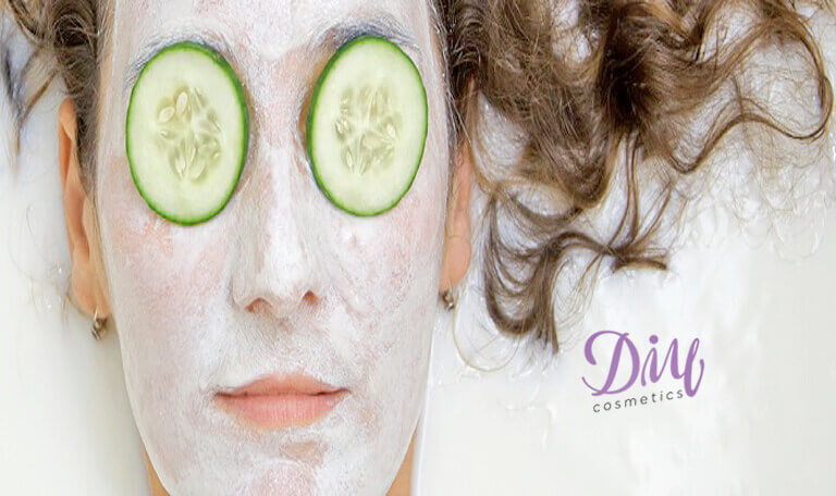Homemade Face Mask with Yeast