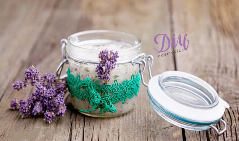 How to Make Homemade Lavender Soap Scrub