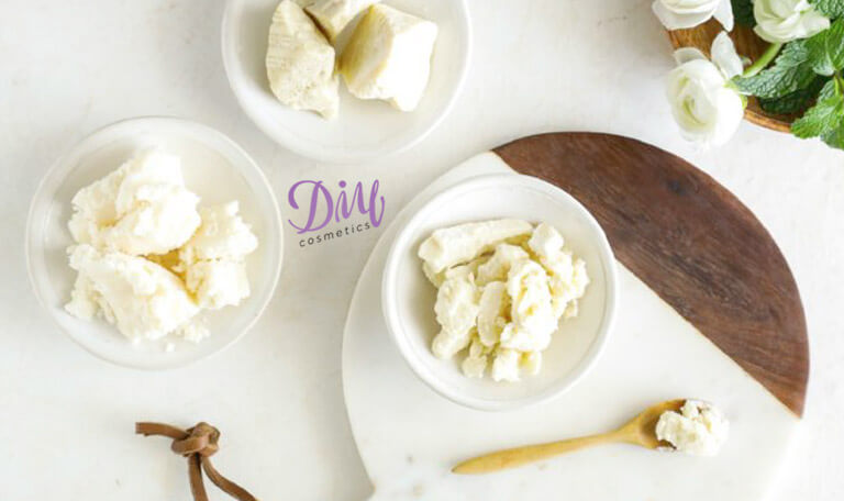 Homemade Lotion with Coconut Oil for