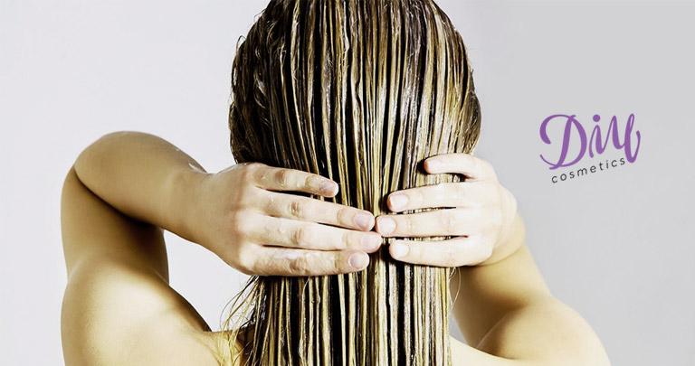oliva oil hair mask