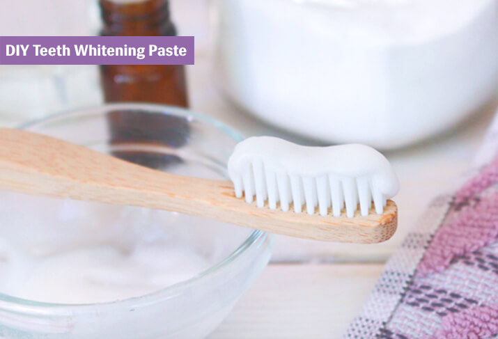 DIY Teeth Whitening Paste